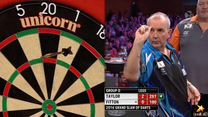 Phil Taylor vs Darryl Fitton (Grand Slam of Darts 2016 / Group D)