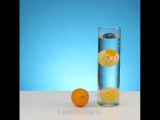 Эксперименты с водой (с. 5minute craft)
