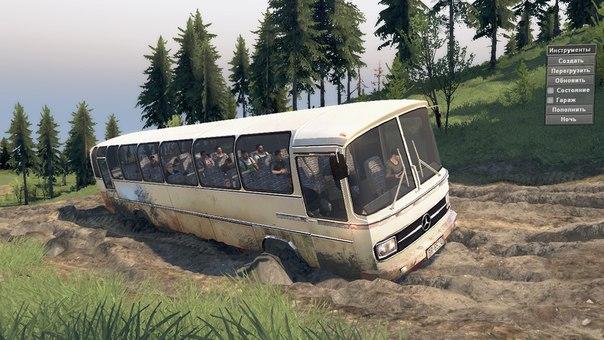 Автобус Mercedes-Benz O302 для 03.03.16