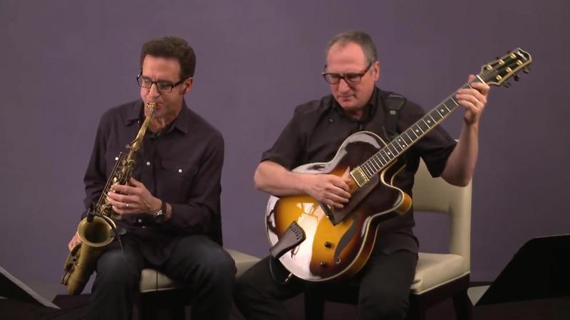 Eric Marienthal with Chuck Loeb - Puentes Album version