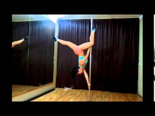 Pole Dance (Sport) Elements: СКОРПИОН (Видео таблица для продолжающих)