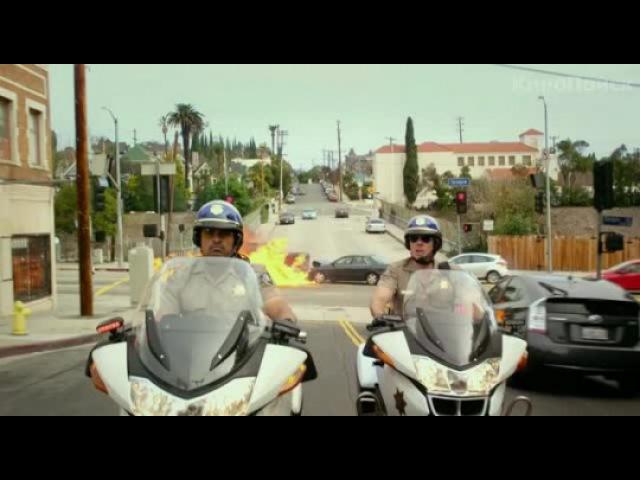 Видео к фильму «Калифорнийский дорожный патруль»
