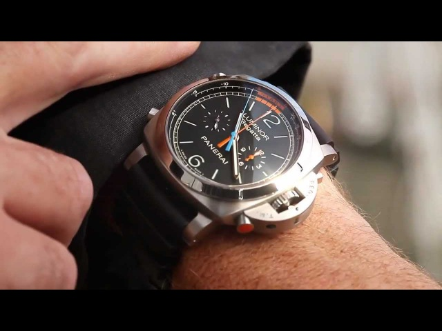 Panerai Luminor 1950 Regatta 3 Days Chrono Flyback Titanio PAM00526 Watch