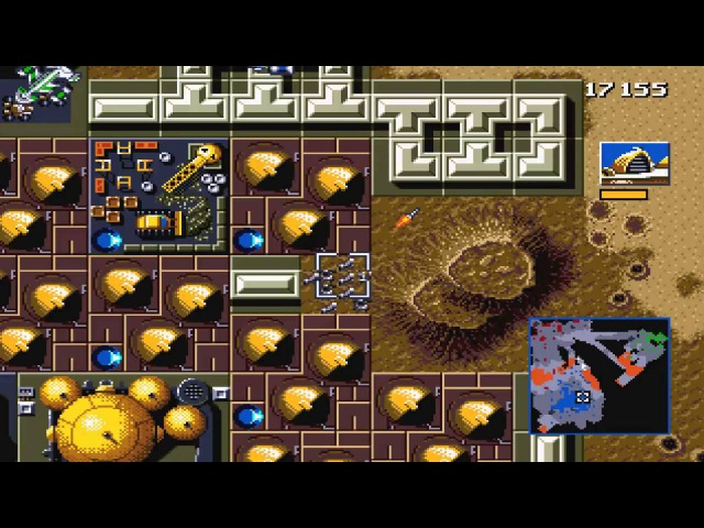 DUNE 2 The Battle for Arrakis SEGA Genesis, Let's play, Дюна 2 Битва за Арракис, летс плей
