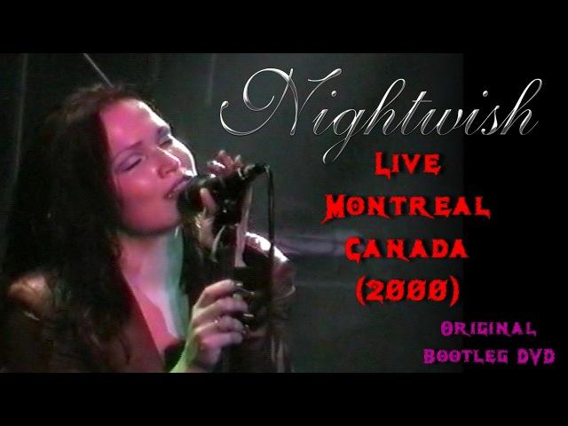 Nightwish Live Montreal Canada (2000) Original Bootleg DVD