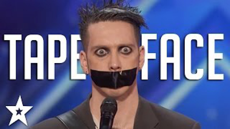 Tape Face Auditions Performances | America's Got Talent 2016 Finalist