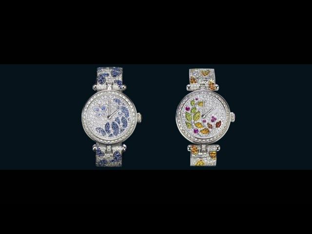 Lady Jour des Fleurs and the Lady Nuit des Papillons watches - Van Cleef Arpels