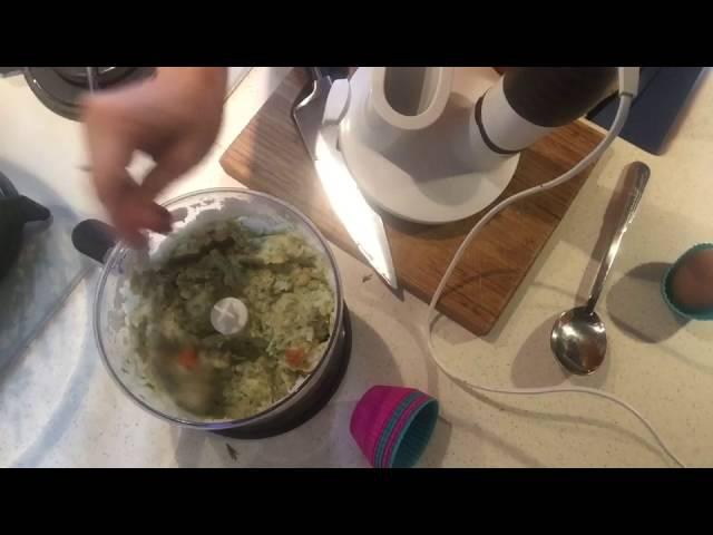Рецепт Суфле из рыбы Детская кухня
