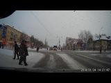 Взял и помог перейти дорогу слепому человеку. Архангельск
