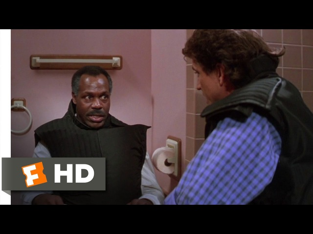 Toilet Bomb - Lethal Weapon 2 (5/10) Movie CLIP (1989) HD