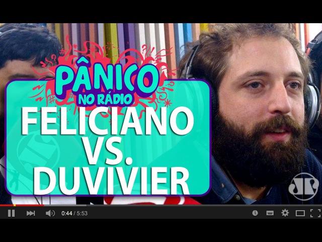 Pastor Marco Feliciano liga no Pânico e briga com Gregório Duvivier | Pânico