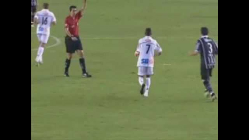 Chapéu do Neymar no Chicão Santos 2 x 1 Corinthians 28/02/2010