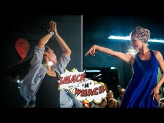 Smack'n'whack 2016, Waacking Pro - Kate Moon (I.H.O.W) VS Дарья Нихейма (win)