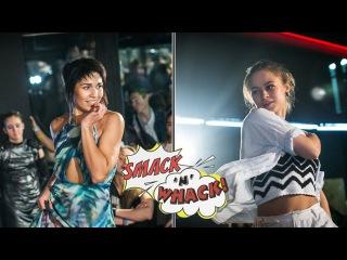 Smack'n'whack 2016, Waacking Pro - Zlata Maslo (I.H.O.W) (win) VS Цыпа (I.H.O.W)