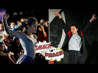 Smack'n'whack 2016, Waacking Pro - Lera (I.H.O.W) VS Archin (win)