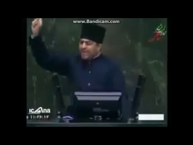 İran parlamentində şok yaşandı