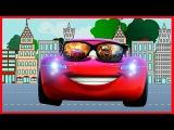 Transportation names and sounds| МОЛНИЯ МАКВИН McQueen | ВСПЫШ и ЧУДО МАШИНКИ.Мое измененное видео