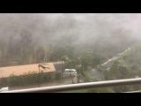 Cyclone Debbie made landfall in Hamilton island, QLD, Australia  28 03 2017