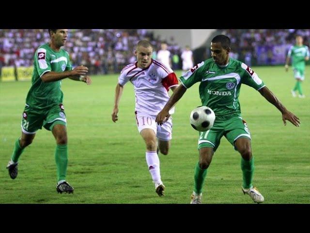 Maccabi - Aktobe (Маккаби Хайфа - Актобе) 4:3 ЛЧ 2009-10 Квалификация 3-й раунд