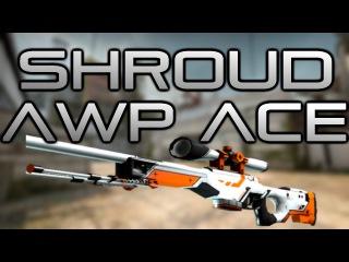 C9 Shroud's NUTTY AWP ACE! de_cache CS:GO