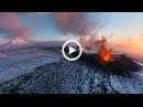НЕВЕРОЯТНЫЕ КАДРЫ, Извержение вулкана!!!
