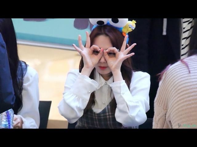 [4K] 170303 구구단 여의도 팬사인회 강미나 스케치 영상/Fancam By ALoHa