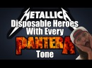 Disposable Heroes - With Every Pantera Tone * (Walk Mashup)