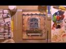 Акрил. Текстурная паста. Пишем картину Окно.
