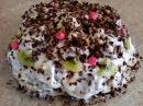Торт без выпечки из пряников и зефира Быстрый торт из пряников
