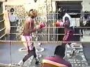 Roy Jones Junior v Lindell Holmes (sparring)