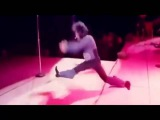 Dance moves show Michael Jackson, Elvis Presley,Prince and James Brown