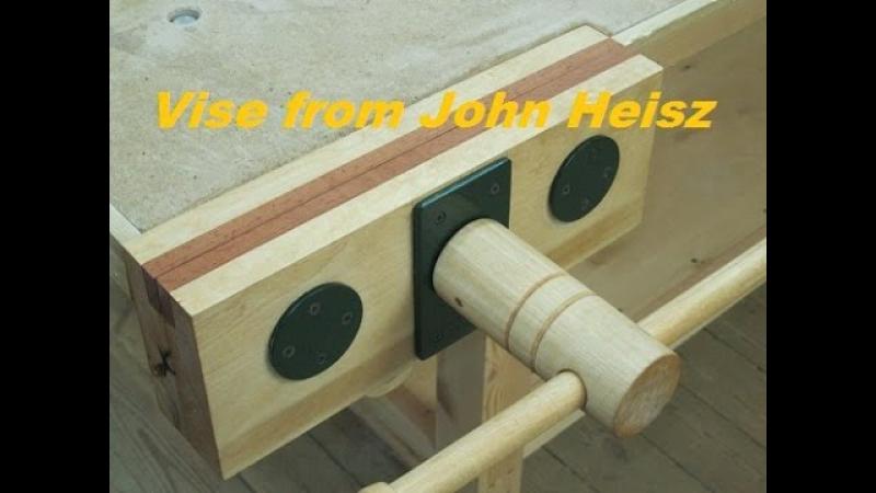 Столярные тиски. Vise from John Heisz