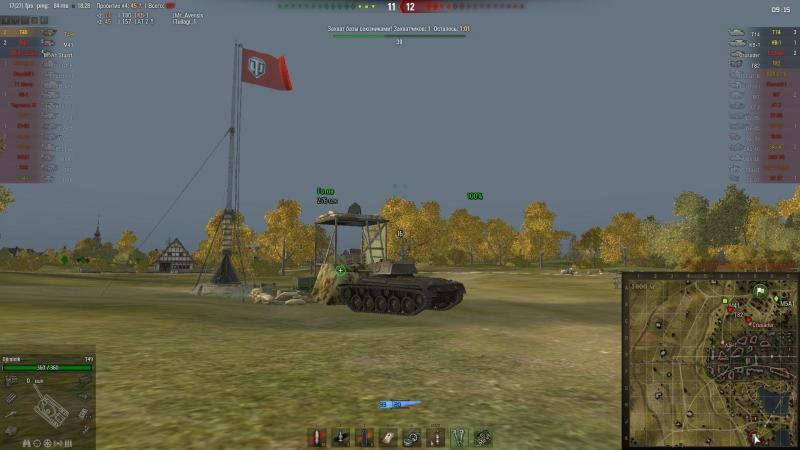 Т-49 Мой первый «РЕЙДЕР» «ЗАХВАТЧИК» Линия Зикфрида. (FULL HD)