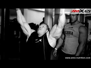 Dennis Wolf & Milan Sadek in Muscle Gym Cologne