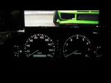 Пересвет приборной панели, плавный розжиг и затухание Toyota Chaser 100