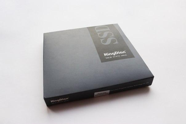 Большой пост. Много букв. Долгожданный KingDian SSD диск на 480