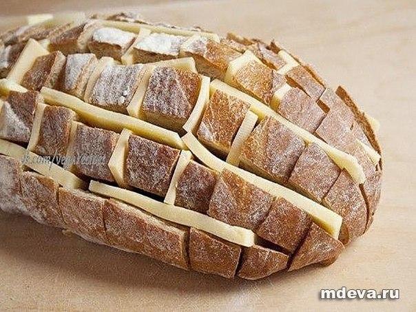 Как сделать сырный хлеб