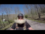 Motorcycle on the mountain - Dean Nelson