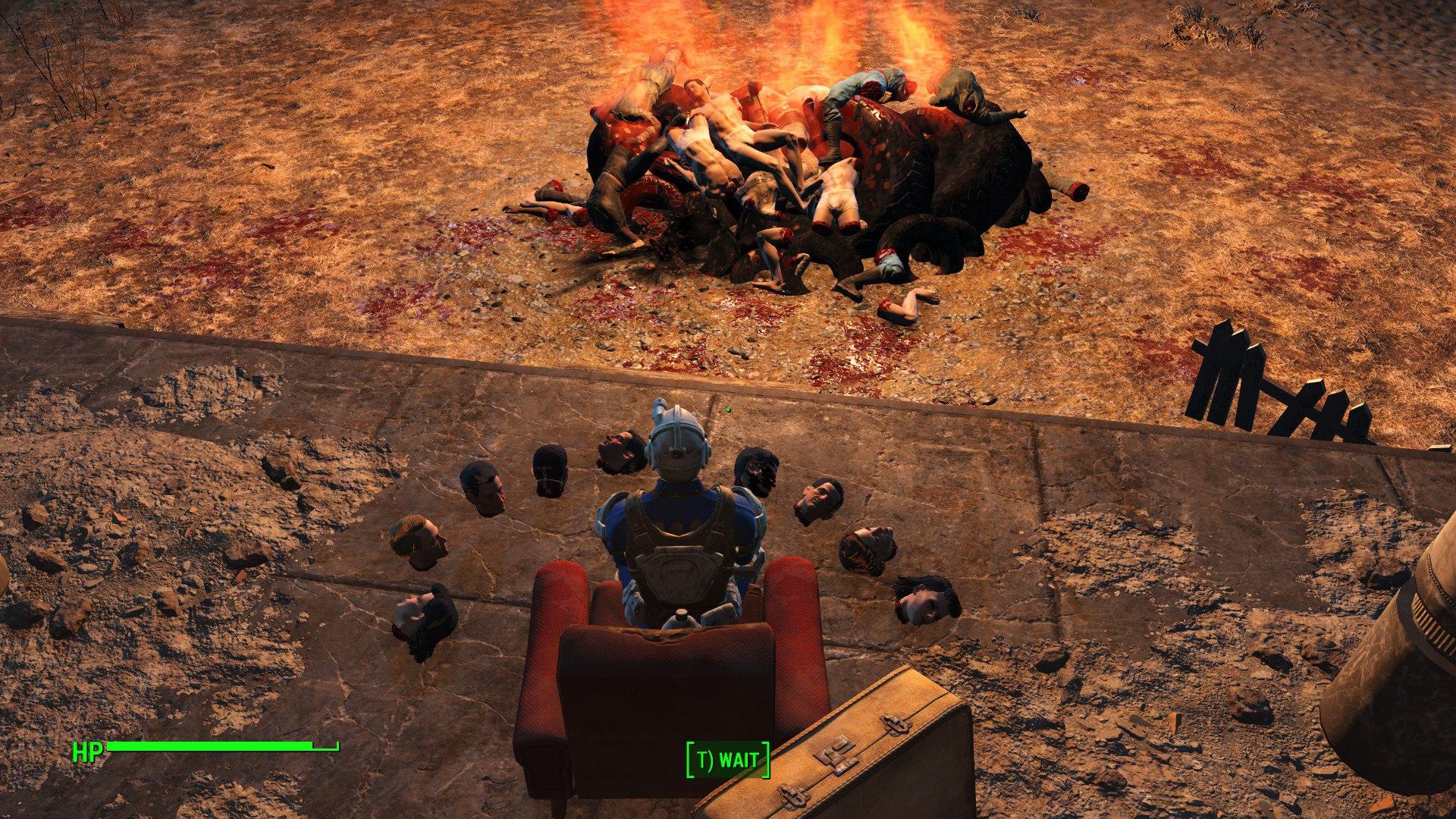 В Fallout 4 всегда есть чем развлечь себя .