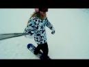 Snowboarding Banana Barses 01.03.17