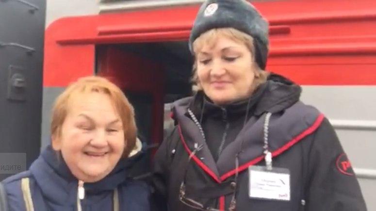 Ольга Васильевна возвращается в Лермонтово.