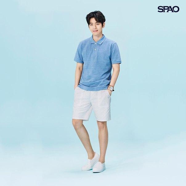 [COMMERCIAL] 160728 #EXO #Baekhyun @ spao_kr Instagram Update