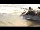 Спасение дикого животного пожарными Усть-Кута