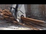 Гидравлические ножницы vs металла