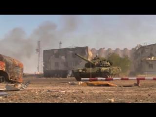 Бои за аэропорт, штурм ополченцами ДНР позиций укропов 2-3 октября 2014 г.