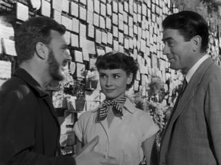 Римские каникулы / Roman Holiday (1953) 720p