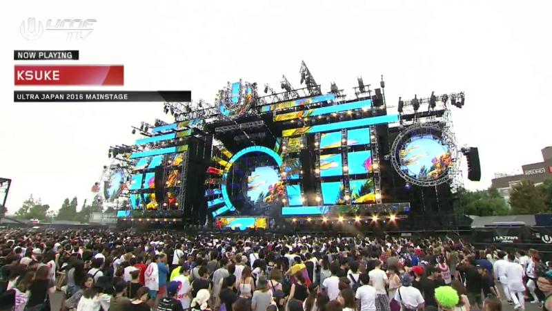 Ksuke Live Ultra Japan 2016