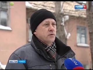 В Томске под тяжестью снега рухнула крыша