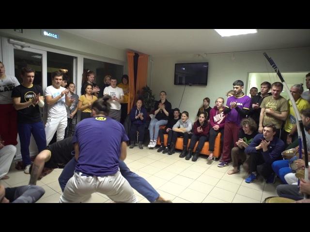 Inst Pipoca e Inst Coringa Aqui na Russia capoeira e pra valer 2016 CDO SPb