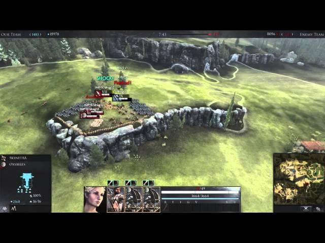 Total War Arena - Epic Battles 17 - Oxybeles на Рубиконе с рекордом урона